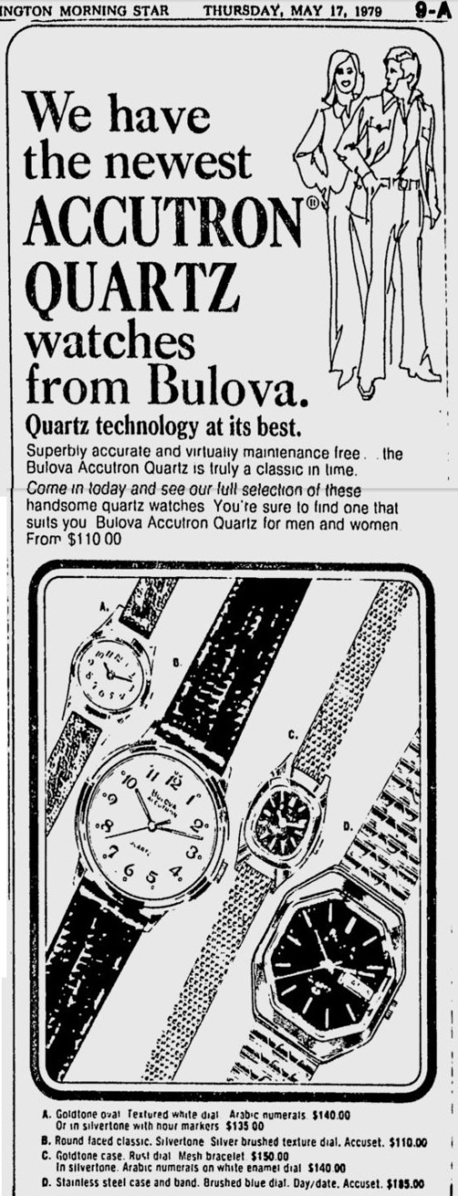 Bulova Accutron Quartz