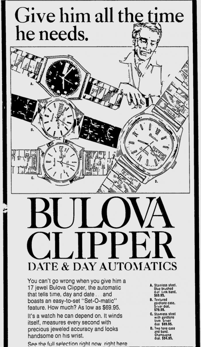 Bulova Clipper Set-o-Matic