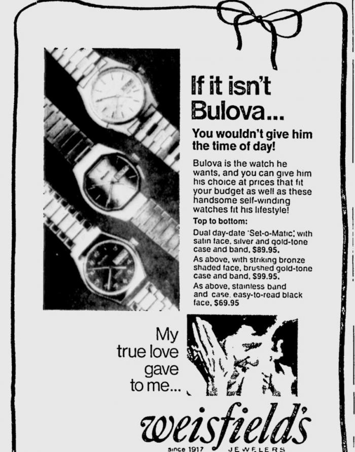 Bulova Set-o-Matic watch