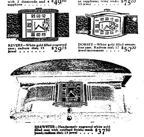 1929 ad black dial