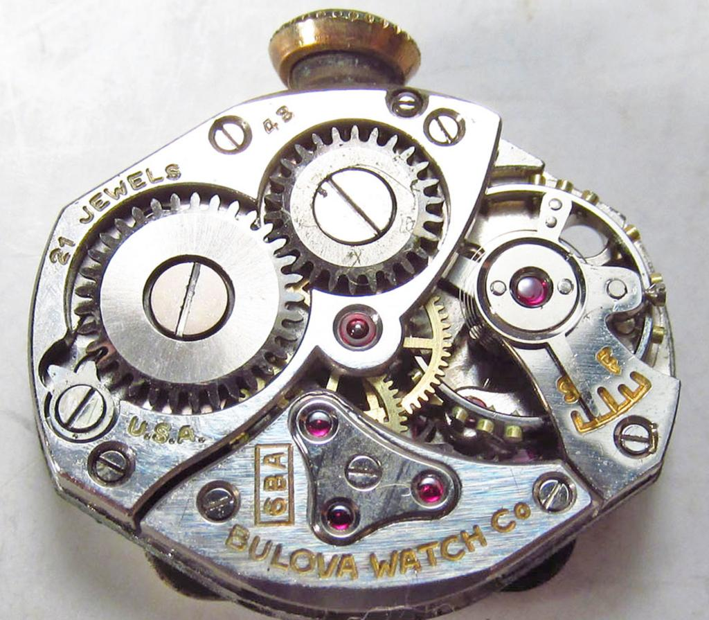 Movement 6BA, 48 1948 date code, 21 jewel, USA made.