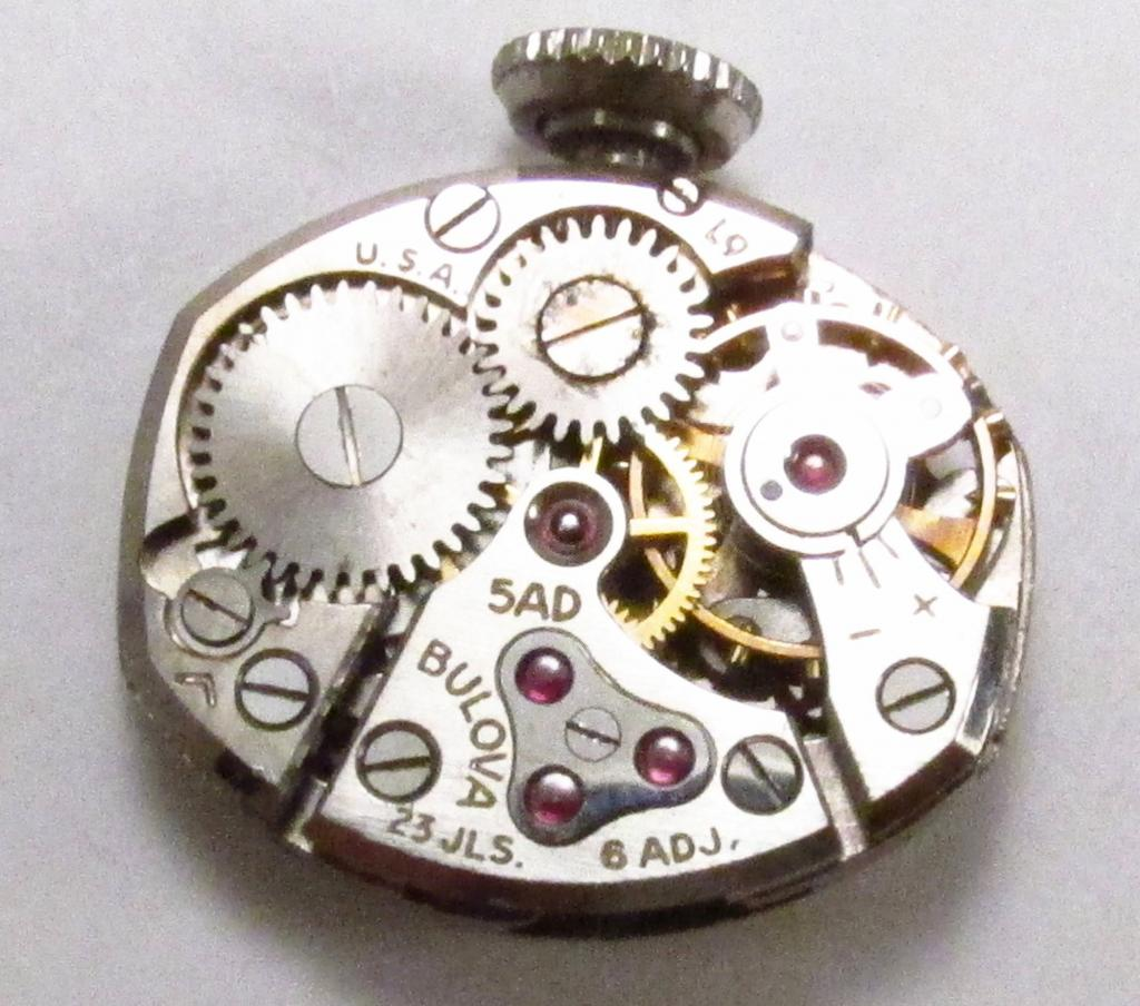 Movement 5AD, L9 1959 date code, 23 jewels, USA made.
