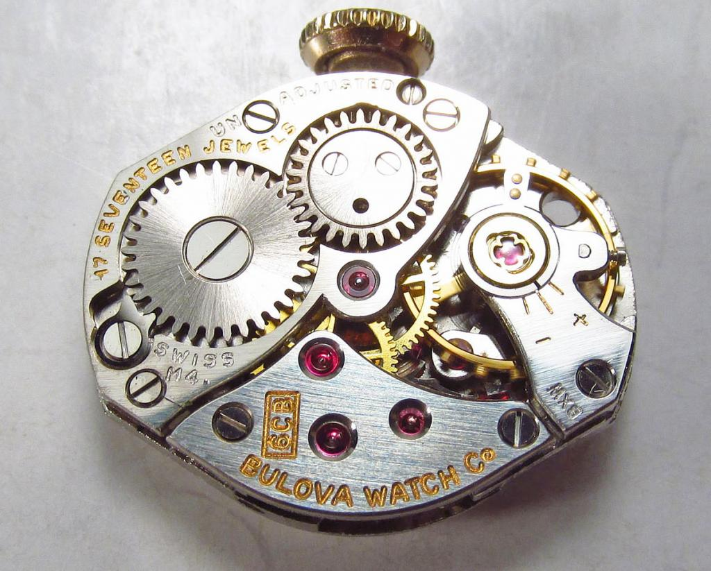 Movement 6CB, M4 1964 date code, 17 jewels, Swiss made.