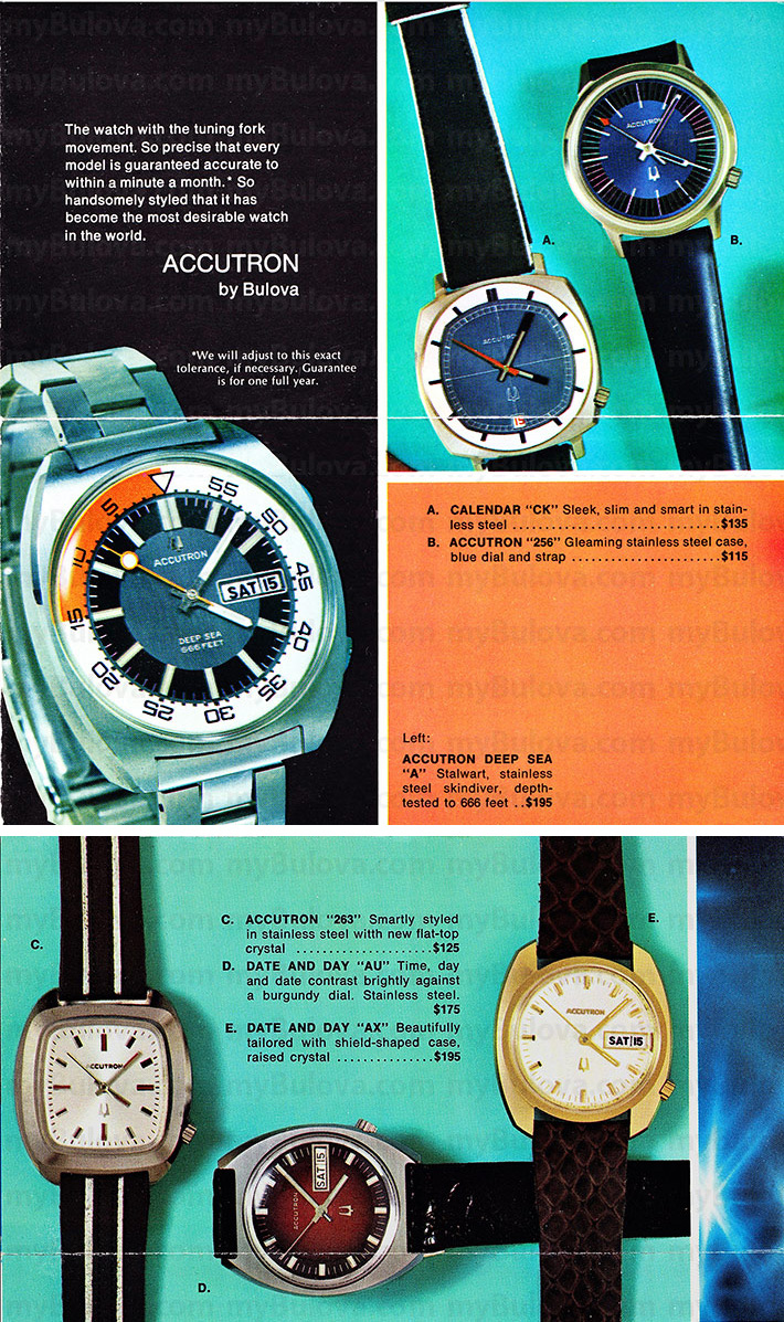 Accutron Beginner's Guide Identification?