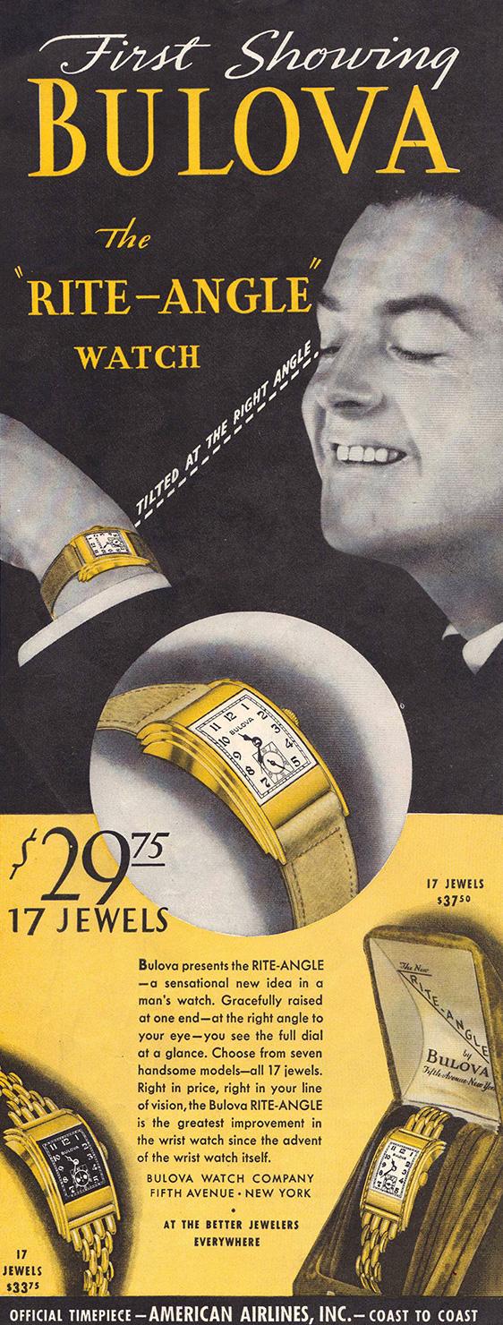 1930 Bulova Rite Angle