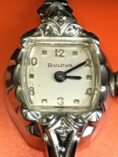 1960] Bulova Miss Liberty A watch