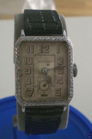 Bulova Norman wristwatch