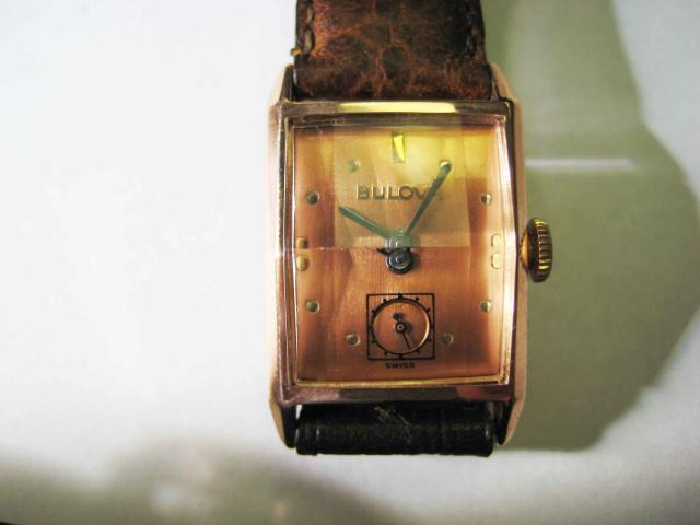 "14K Bulova ""Patriot"" 1947 Watch"