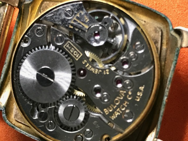 1949 10BH movement Bulova watch