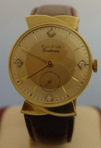 1958 Bulova Excellency 14K Solid Gold Geoffrey Baker