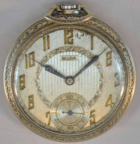 1926 Bulova Cavalier Pocket Watch Geoffrey Baker 4/14/2013