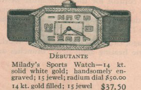1926 Bulova Debutante watch