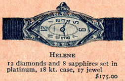 1926 Bulova Helene watch