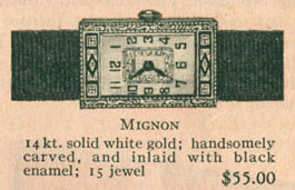 1926 Bulova Mignon watch