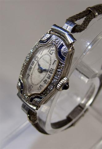 Bulova watch 1925 Du Barry