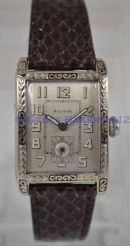 Geoffrey Baker 1927 Bulova President Madison Watch