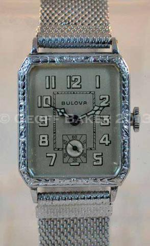 Geoffrey Baker 1927 Bulova Norman watch 6/18/2013