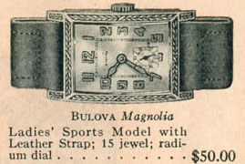 Bulova Magnolia watch