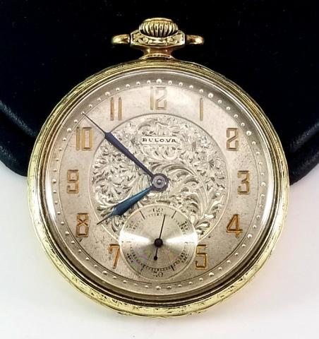 1927 Bulova Model 470 Pocket Watch