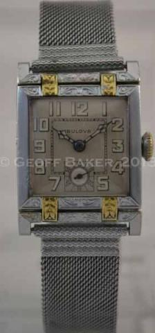 1928 Bulova Cambridge Watch Geoffrey Baker 3/5/2013