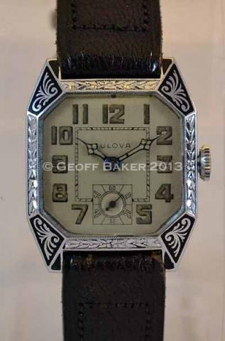 Geoffrey Baker 1930 Bulova Lone eagle Watch 5/12/2013