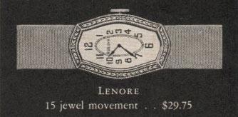 1928 Bulova Lenore watch