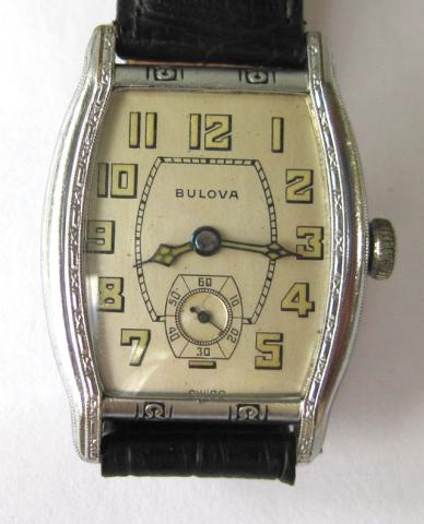 1929 Bulova Lone Eagle watch