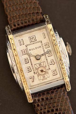 1930 Bulova Gladiator watch