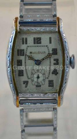1931Bulova Apollo watch Geoffrey Baker