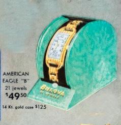 "1939 Bulova American Eagle ""B"""