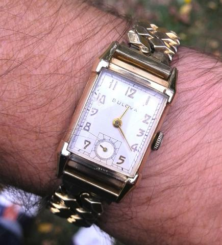 1949 Bulova His Excellency 'SS' watch