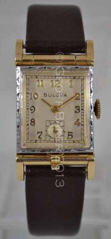 Geoffrey Baker 1950 Bulova Photo watch white yellow 12 1 2013