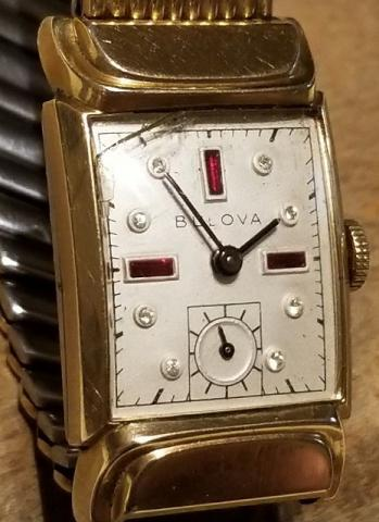 1951 Bulova Beau Brummell watch