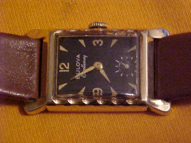 1953 His Excellency Bulova watch