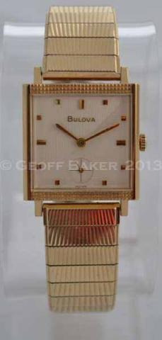 Geoffrey Baker 1966 Bulova Counselor C Watch 11 21 2013