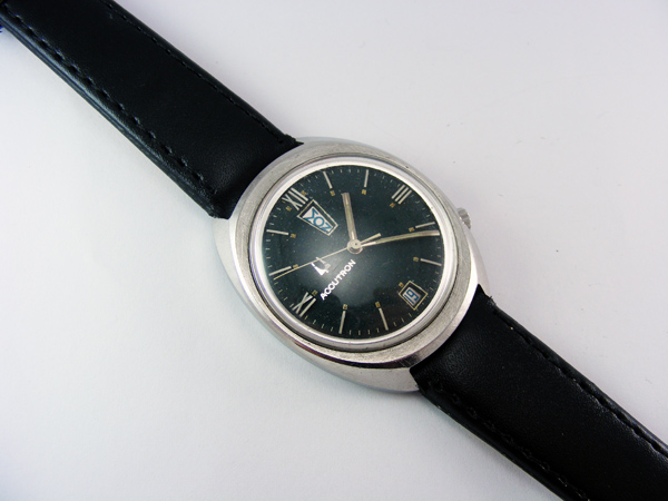 "1970 Accutron Day & Date ""Q"""