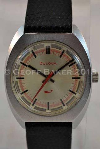 1971 Bulova Sea King GF watch Geoffrey Baker 11 06 2013