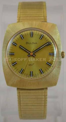 1972 Bulova Sea King GK Watch Geoffrey Baker 3/5/213