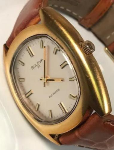 1972 Bulova 30 Automatic (Dial-Side View)