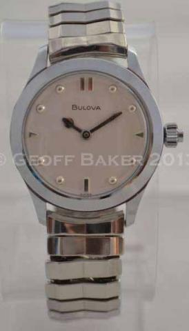 Geoffrey Baker 1977 Bulova Automatic Braille Watch 11 30 2013