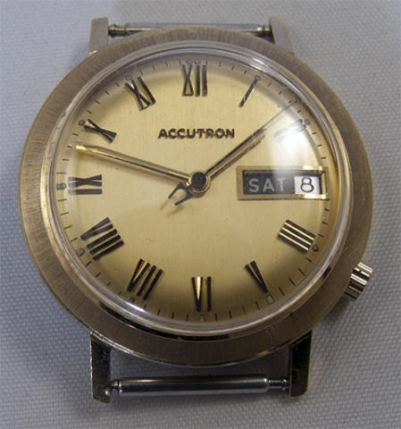 1979 Accutron Date & Day G