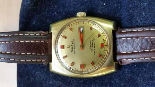 Bulova 1969 Oceanographer Automatic 23 Jewels