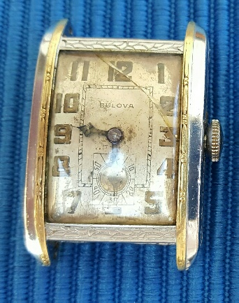1928 Bulova garfield watch