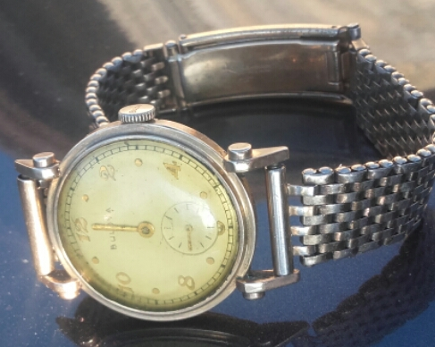 1940 Bulova his Excellency AA watch