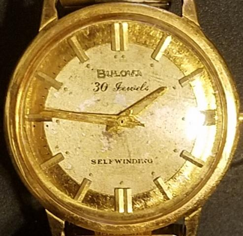 1965 Bulova Commander D watch