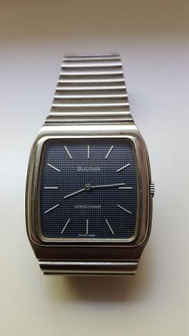 1975 Bulova Longchamp watch