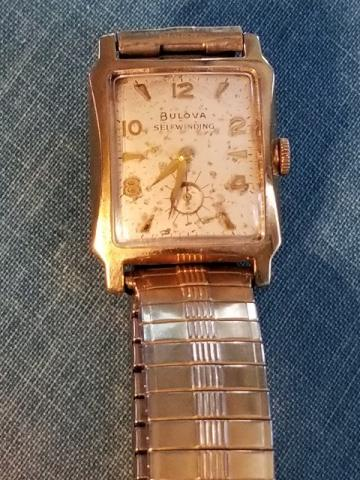 1957 Bulova Ambassador G watch