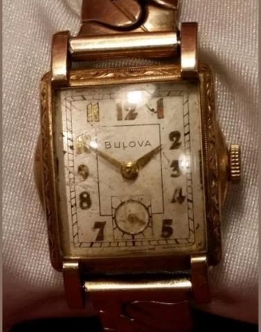 1950 Bulova Treasurer watch