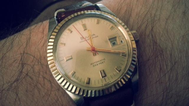1969 Bulova Oceanographer D watch