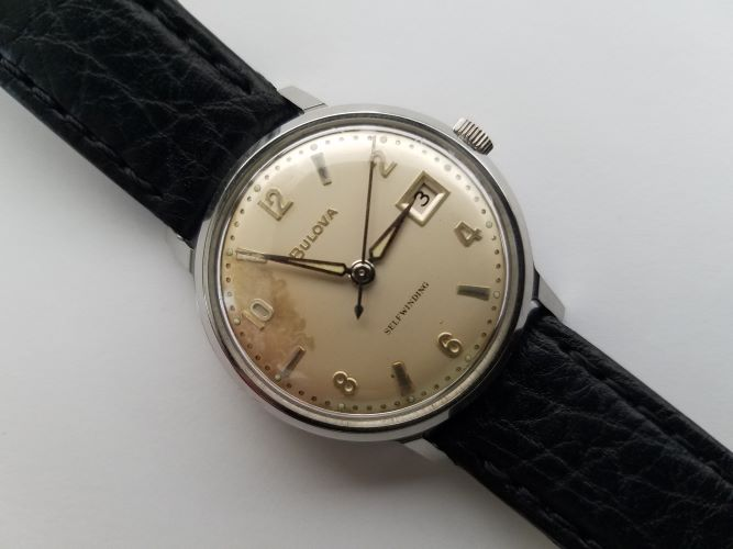 1962 Bulova Jet Clipper I Watch